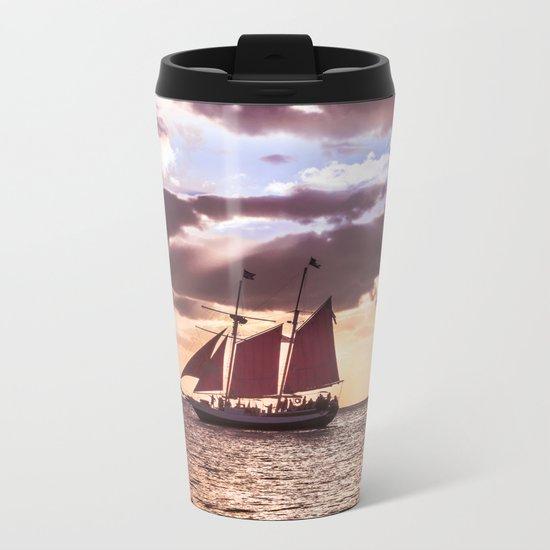 Scarlet sails Metal Travel Mug
