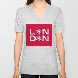 LONDON WEIMS Unisex V-Neck