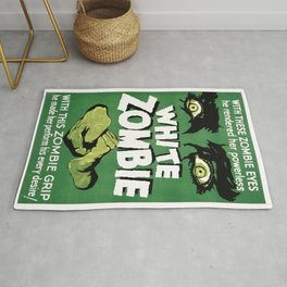 Vintage poster - White Zombie Rug