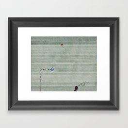 Create and resist.. Framed Art Print
