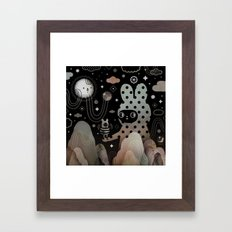 Nighty Night Framed Art Print