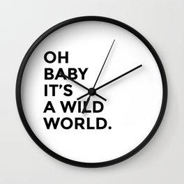 Wild World Wall Clock