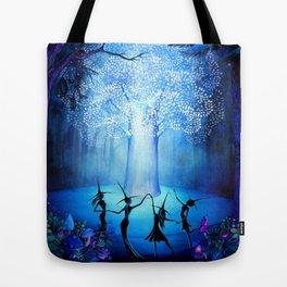 Tree of Light Tote Bag