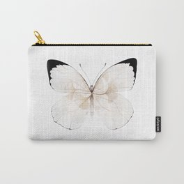 White Ginkgo Carry-All Pouch