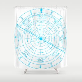 Stormy North Shower Curtain