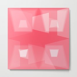 Geometric Love N.1 Metal Print