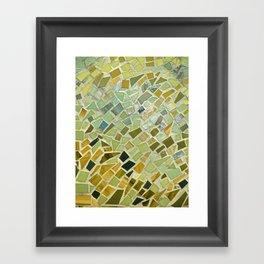 Bright n Sunshiny Day Mosaic Framed Art Print