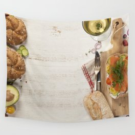 healthy sandwiches Wall Tapestry