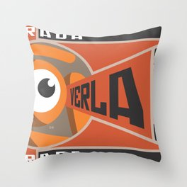 see the glance Throw Pillow