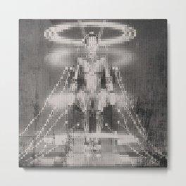 Metropolis tribute by Jean-Francois Dupuis Metal Print