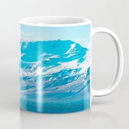 Blue Shine With A Horse Coffee Mug