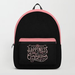Happiness is Contagious Backpack