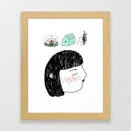 Craving Framed Art Print