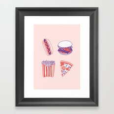 Bon Appétit Framed Art Print
