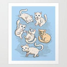 Cute Kittens Art Print