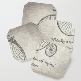 Melancholy Is Incompatible With Bicycling Coaster