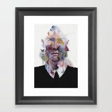 mr. afterthought Framed Art Print