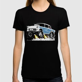 55 Classic Chevy - Tippy Toes T-shirt