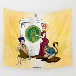 Caffiends: The Aficionado, the Cat, and the Spaz Wall Tapestry