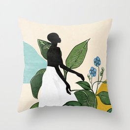 Mesmerized by nature  Throw Pillow