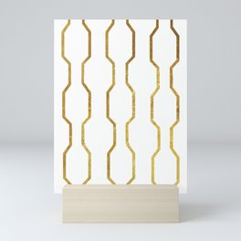 Gold Chain Mini Art Print