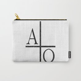 Alpha Omegs Icon Image Carry-All Pouch