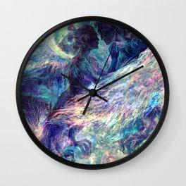Sirin y Alkonost Wall Clock