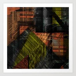 Deeper Heights 1 Art Print