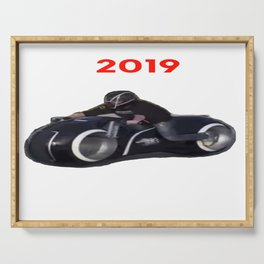 Motorcicle 2019 Serving Tray