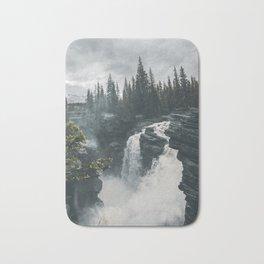 Athabasca Falls Alberta Bath Mat