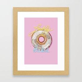Freshly Baked (from the Ai - Ha Funny!) Framed Art Print