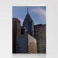 philadelphia Stationery Cards featuring Philadelphia by Jérémy Boes