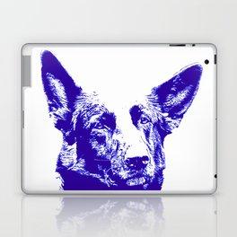 blue Mitzi Laptop & iPad Skin