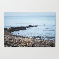 denmark Canvas Prints featuring Denmark Beach by Kayleigh Rappaport