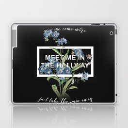 Harry Styles Meet me in the hallway graphic design artwork Laptop & iPad Skin