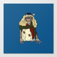 et Canvas Prints featuring ET by V.L4B