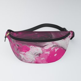 Abstract Ultra Violet Fanny Pack