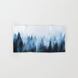 Misty Winter Forest Hand & Bath Towel