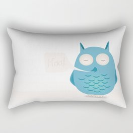 That was a hoot! Rectangular Pillow