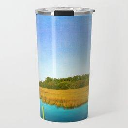 Golden Marshes St. Simons Island Travel Mug