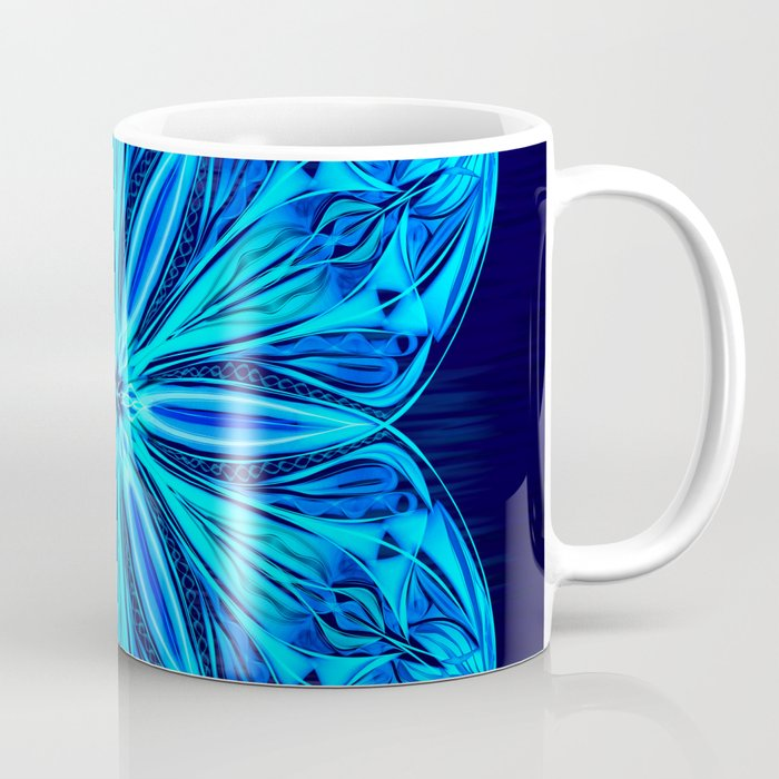 Snowy Cerulean Sea Coffee Mug