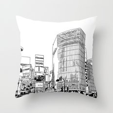 Tokyo - Shibuya Throw Pillow