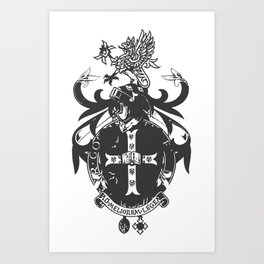 smith coat of arms Art Print