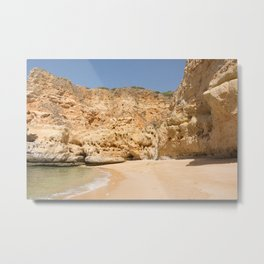 Paradise Beach Portugal Metal Print