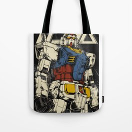 The First Gundam Tote Bag