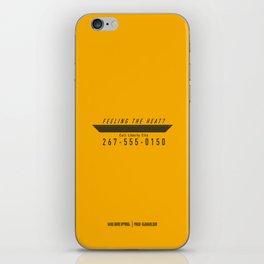 PAUSE – Feeling the heat? iPhone Skin