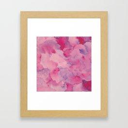 Beth Rose Watercolor Framed Art Print