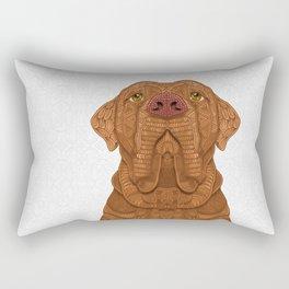 Bordeaux Mastiff Rectangular Pillow
