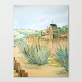 Mission Wall Canvas Print