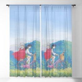 Inuyasha Sheer Curtain